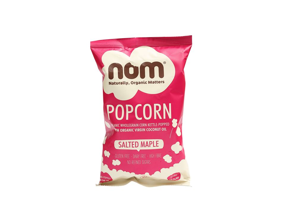 Salted Maple Popcorn, Organic, Nom (20g)