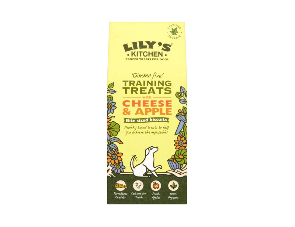 Training Treats for Dogs, Organic, Lily's Kitchen (100g)