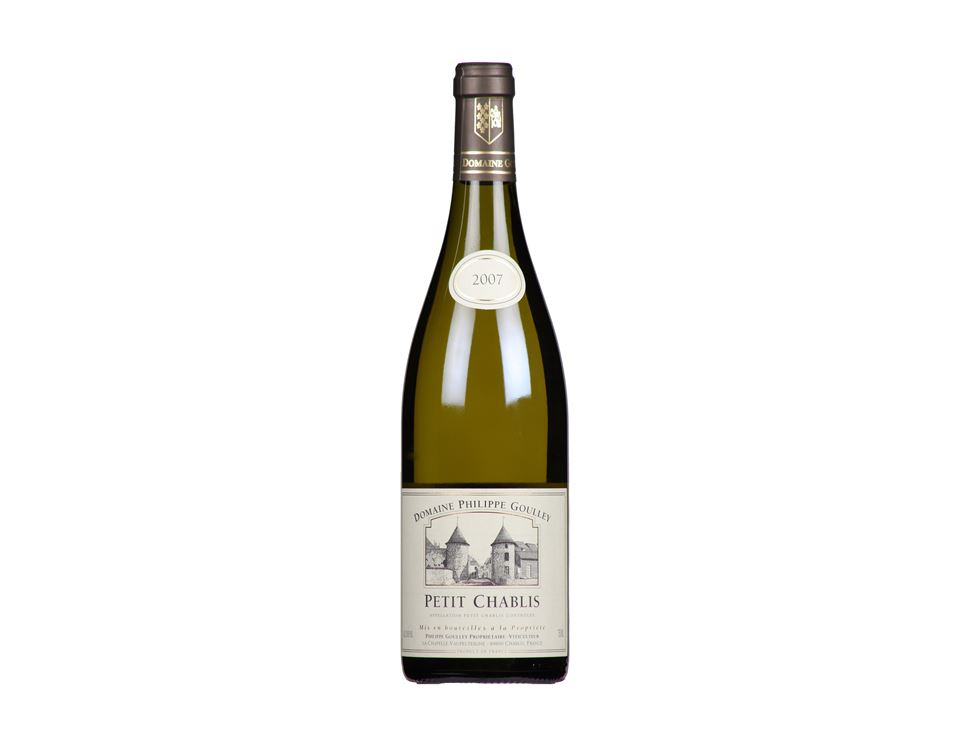 Petit Chablis 2015, Domaine Philippe Goulley, Organic (75cl)