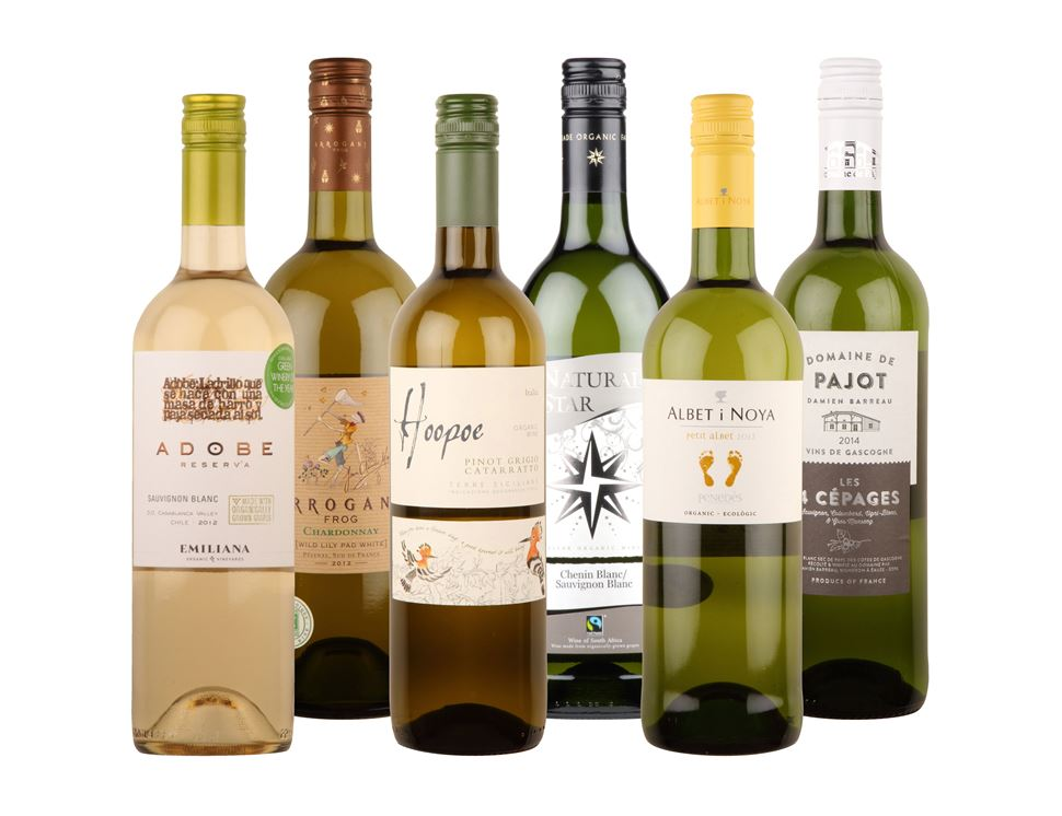Organic White Wine Collection (6 bottles)