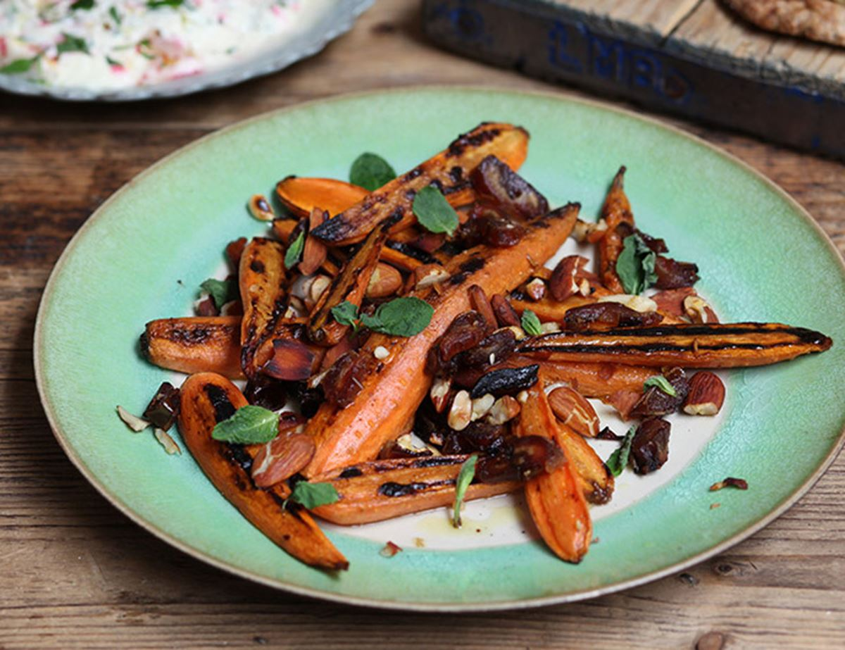 Sweet & Spicy Carrots