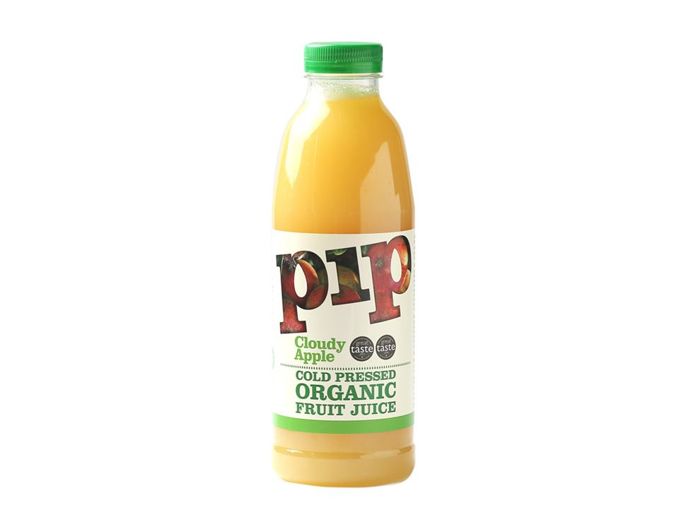 Cold Pressed Apple Juice, Organic, Pip (75cl)