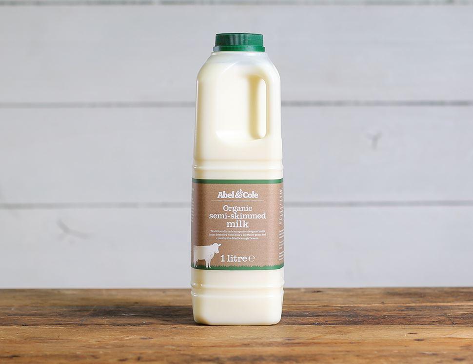 Milk Organic Semi Skimmed 1 Litre