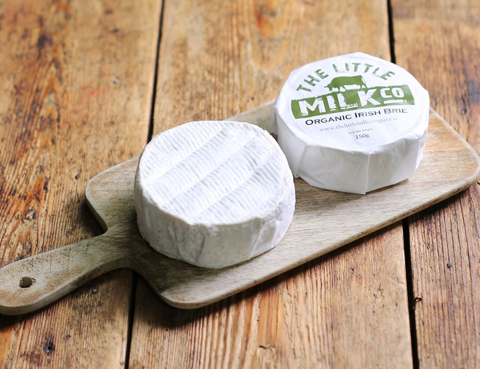Organic Irish Brie, The Little Milk Company (150g)