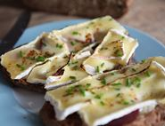 Beetroot and Brie on Toast