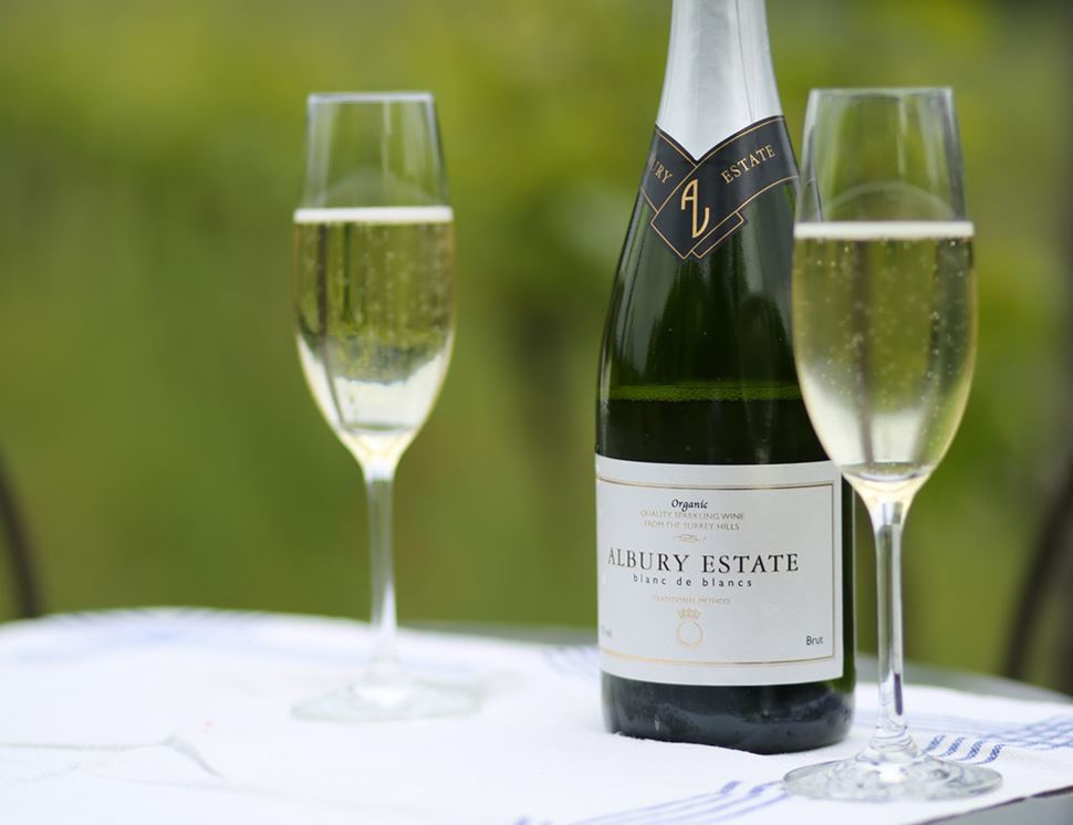 Albury Estate Blanc de Blancs 2015, Organic (75cl)
