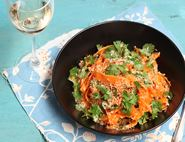 Toasted Coconut & Carrot Salad