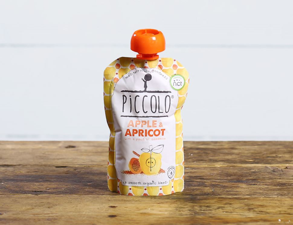Apple & Apricot with a hint of Cinnamon, Organic, Piccolo Food (100g)