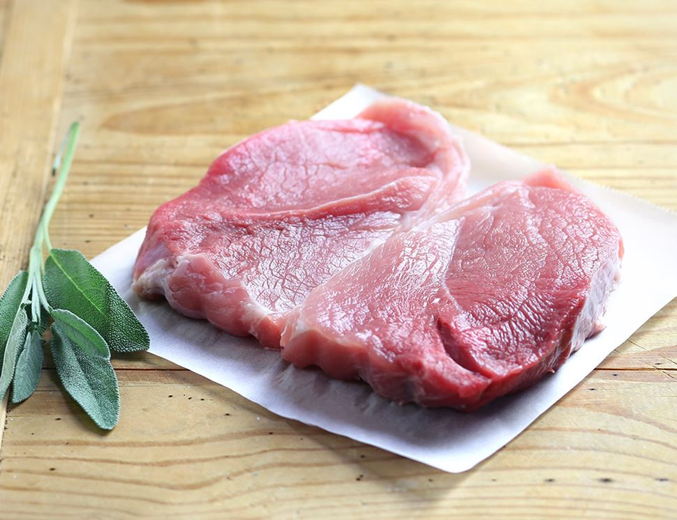 Pork Shoulder Steaks, Organic (350g)