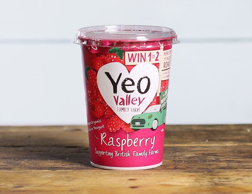 Raspberry Yogurt, Organic, Yeo Valley (450g)