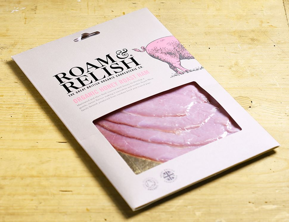 Honey Roast Ham, Organic, Roam & Relish (100g)