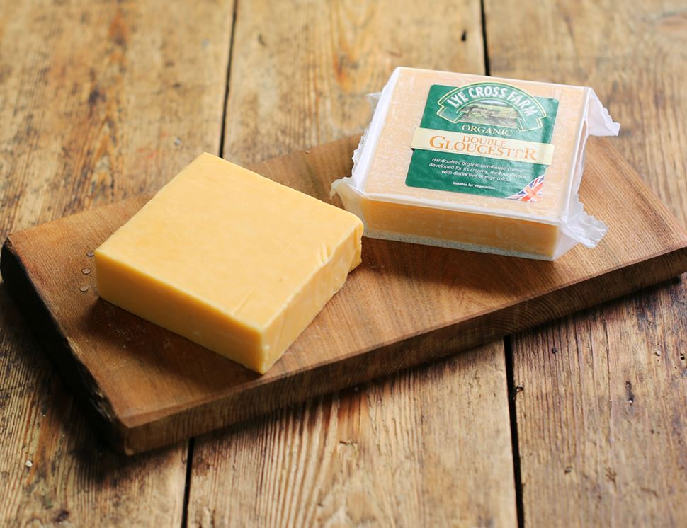 Double Gloucester, Organic, Lye Cross Farm (245g)