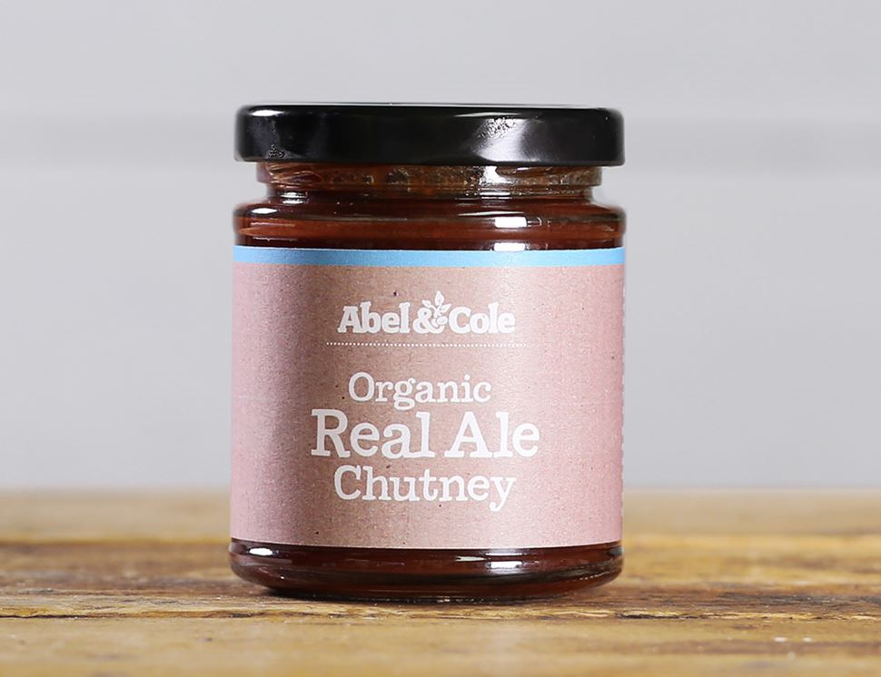 Real Ale Chutney, Organic, Abel & Cole (200g)