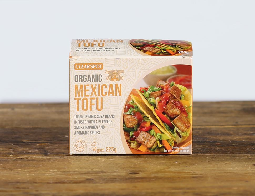 Mexican Tofu, Organic, Clearspot (225g)