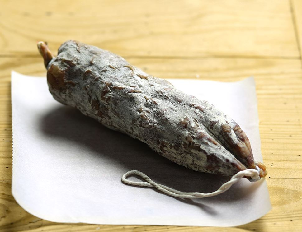 Red Wine Salami, Organic, Peelham Farm (190g)