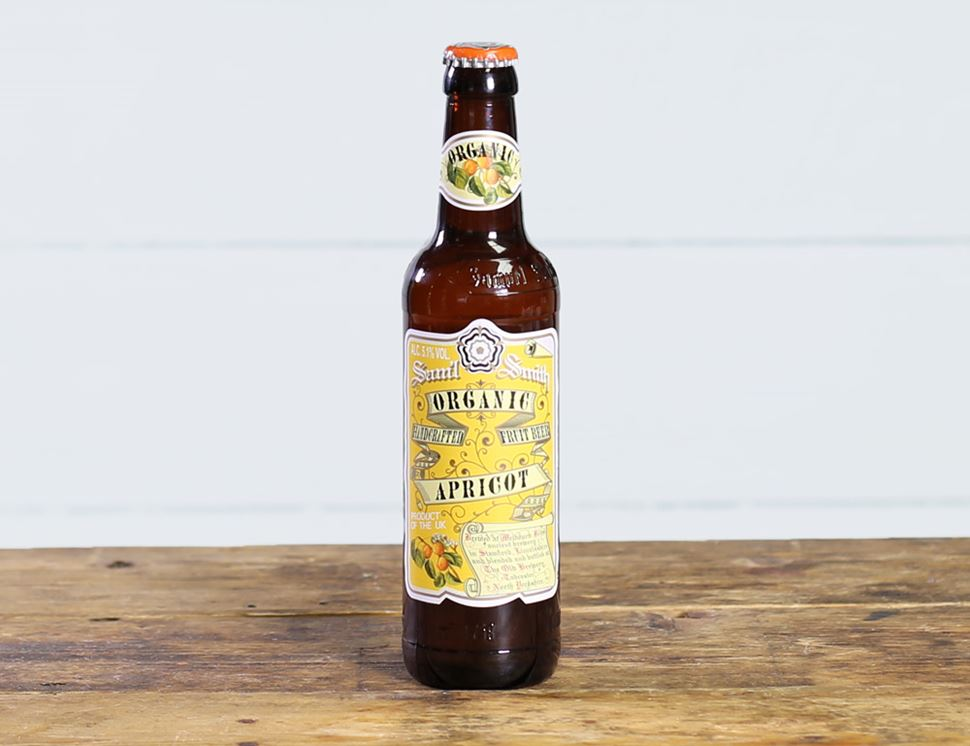 Apricot Fruit Beer, Organic, Sam Smith's (335ml)