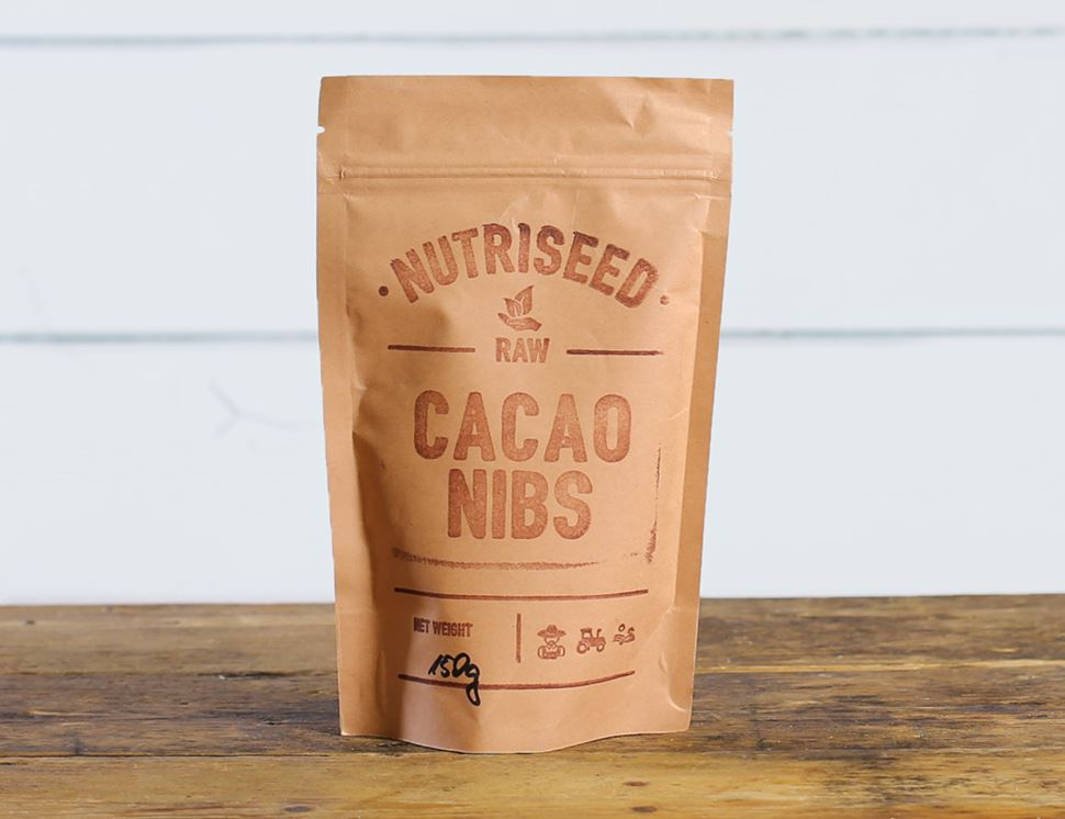Cacao Nibs, Organic, Nutriseed (150g)