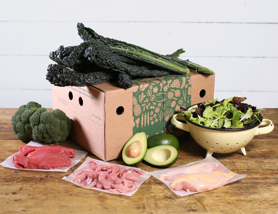 Lean Green Meat & Veg Box