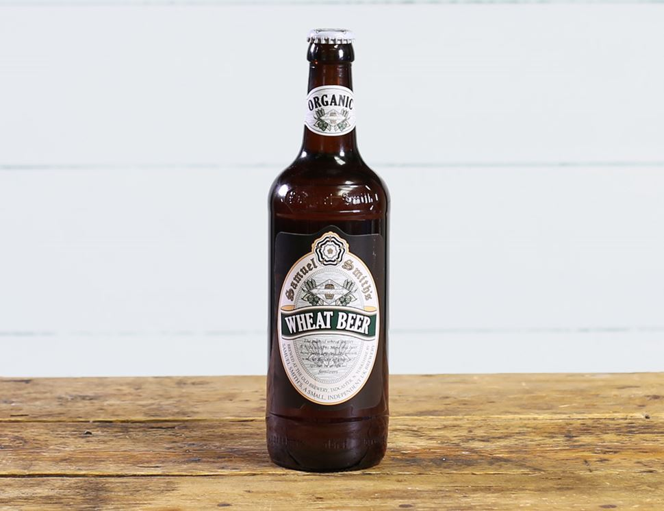Wheat Beer, Samuel Smiths, Organic (550ml)