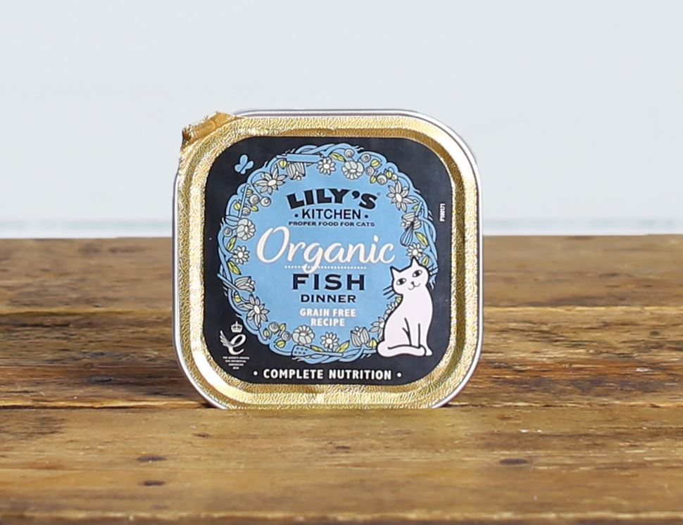 Fish Dinner for Cats, Organic, Lily's Kitchen (85g)
