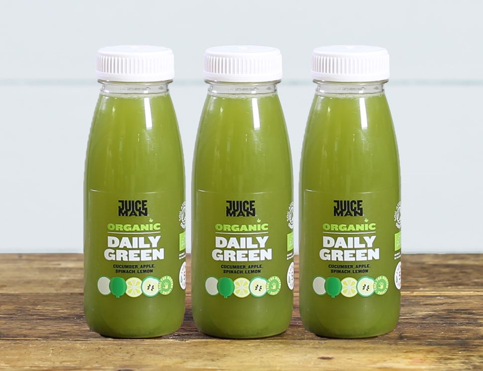 Daily Green, Organic, Juiceman (3 x 250ml)