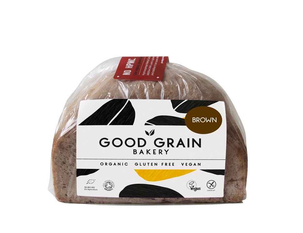 Brown Loaf, Gluten Free, Organic, Good Grain Bakery (450g)