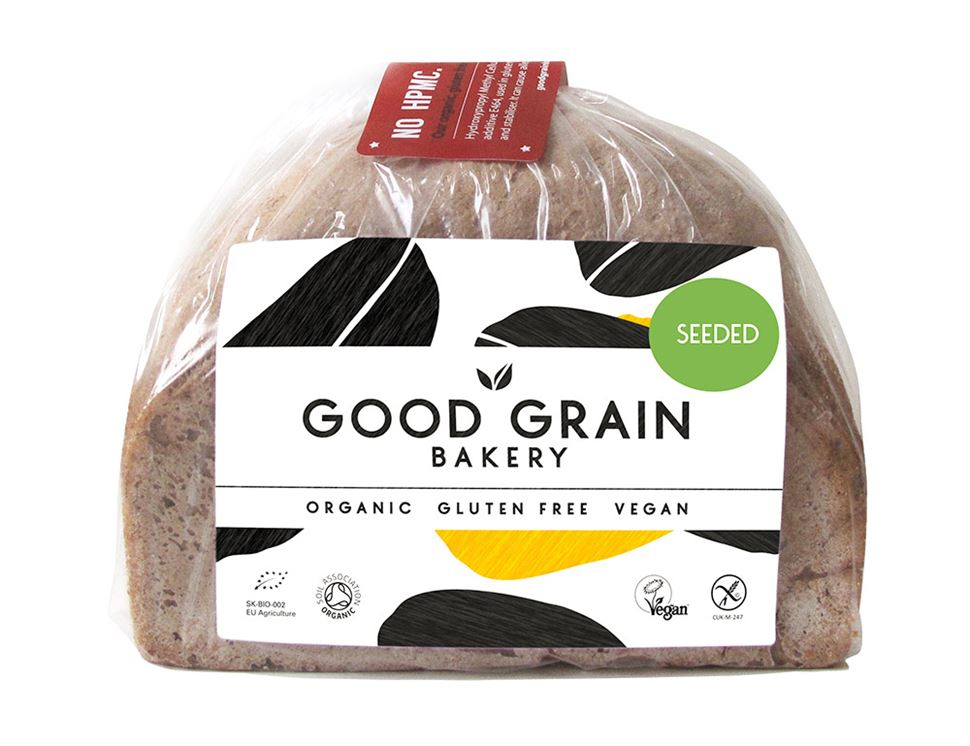 Seeded Loaf, Organic, Gluten Free, Good Grain Bakery (450g)