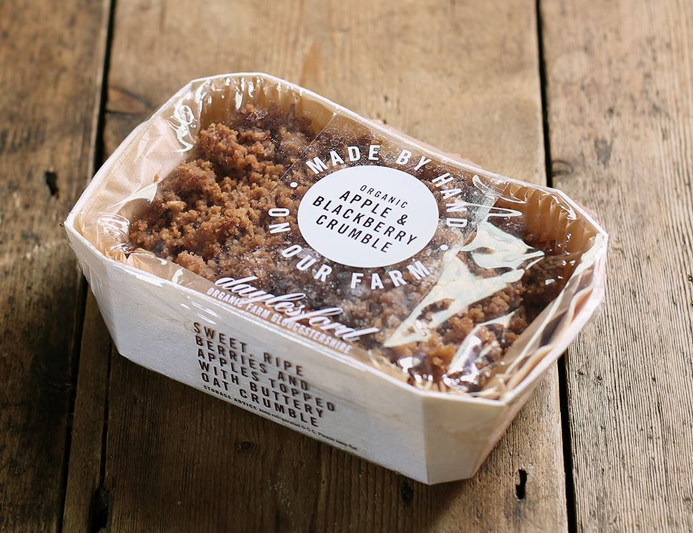Apple & Blackberry Crumble, Organic, Daylesford (300g)