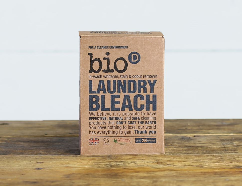 Laundry Bleach, Bio-D (400g, 26 washes)