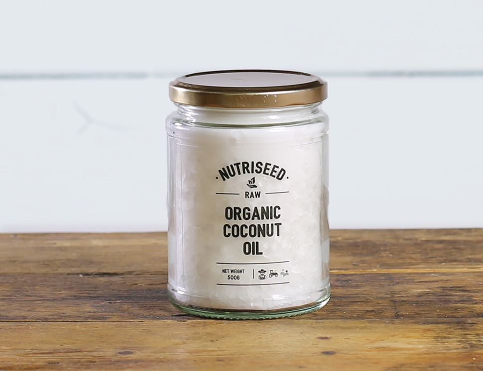 Raw Coconut Oil, Organic, Nutriseed (500ml)