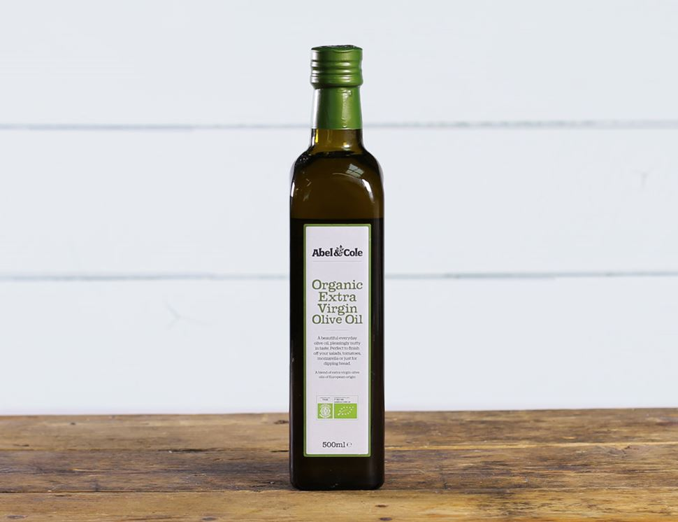 Extra Virgin Olive Oil, Organic, Abel & Cole (500 ml)