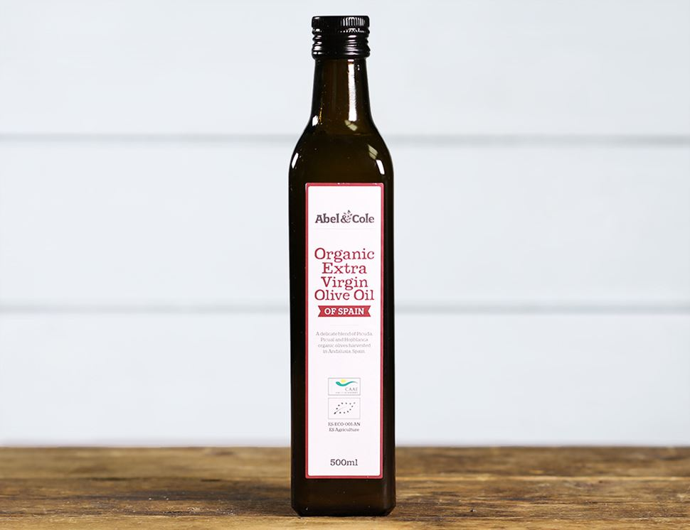 Extra Virgin Olive Oil from Spain, Organic, Abel & Cole (500ml)