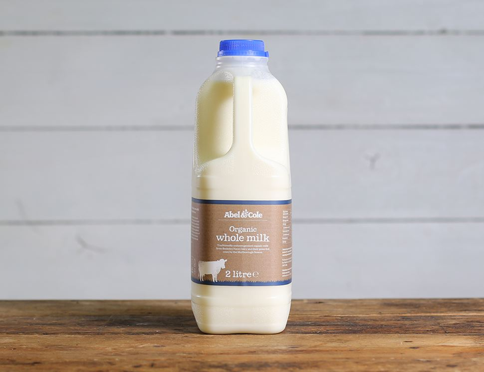 Milk, Organic, Full Cream (2 litre)