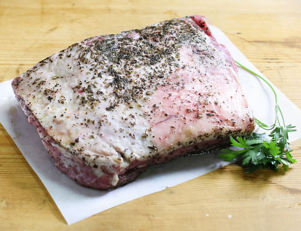 Herby Butterfly Shoulder of Lamb, Eversfield Organic (1.2kg)