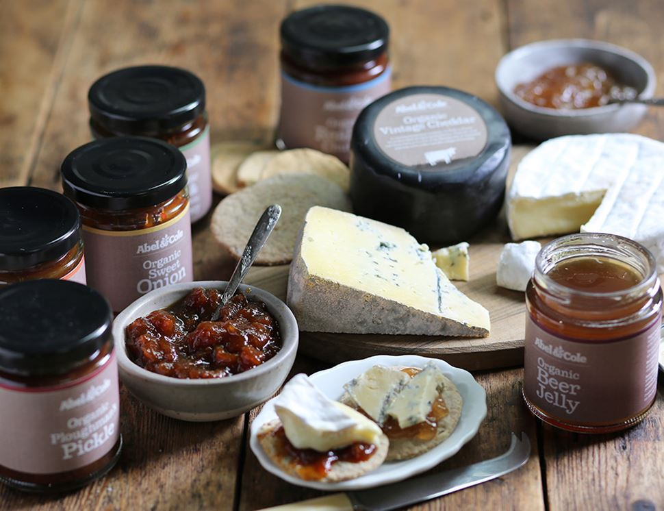 Fig &  Balsamic Chutney, Organic, Abel & Cole (220g)