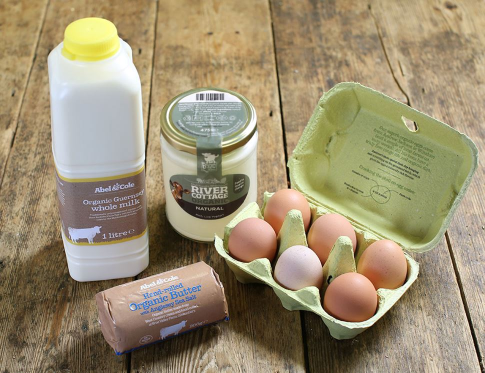 Luxury Dairy Box, Organic, Abel & Cole