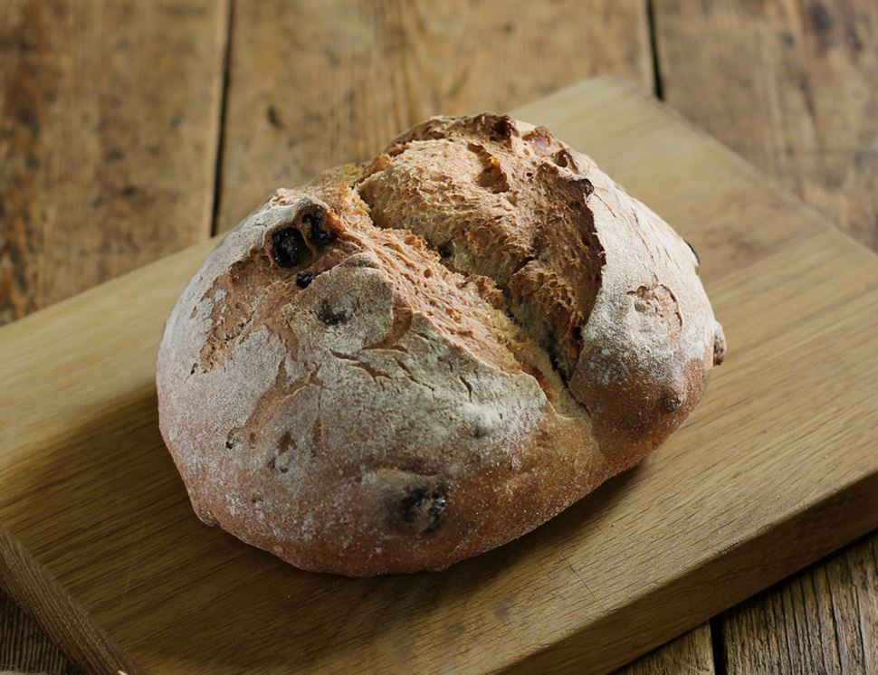 Raisin & Walnut Sourdough, Organic, Famous Hedgehog Bakery (400g)