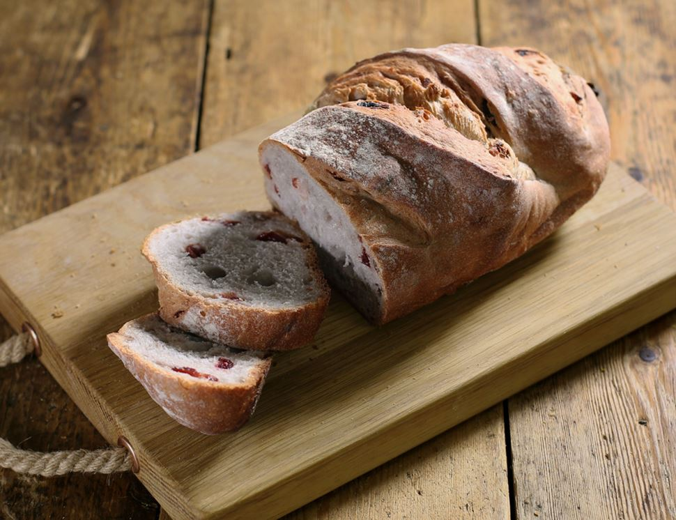 Christmas Bread with Cranberry & Walnut, Organic, Famous Hedgehog Bakery (400g)