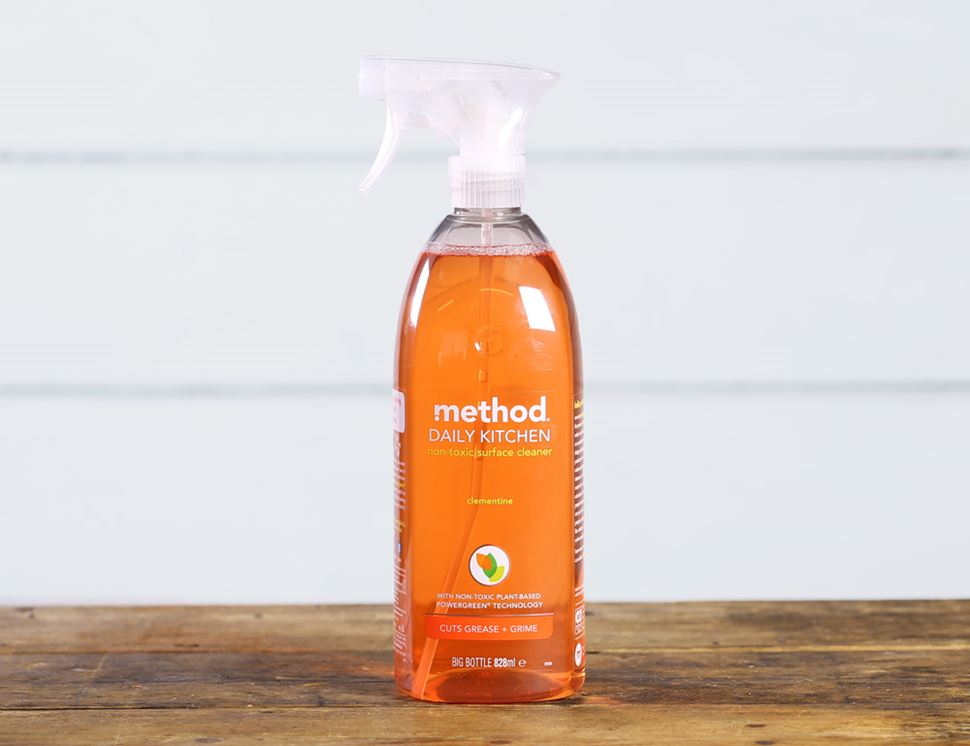 Daily Kitchen Surface Cleaner Clementine, Method (828ml)