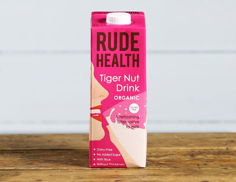 Tiger Nut Drink, Organic, Rude Health (1 litre)