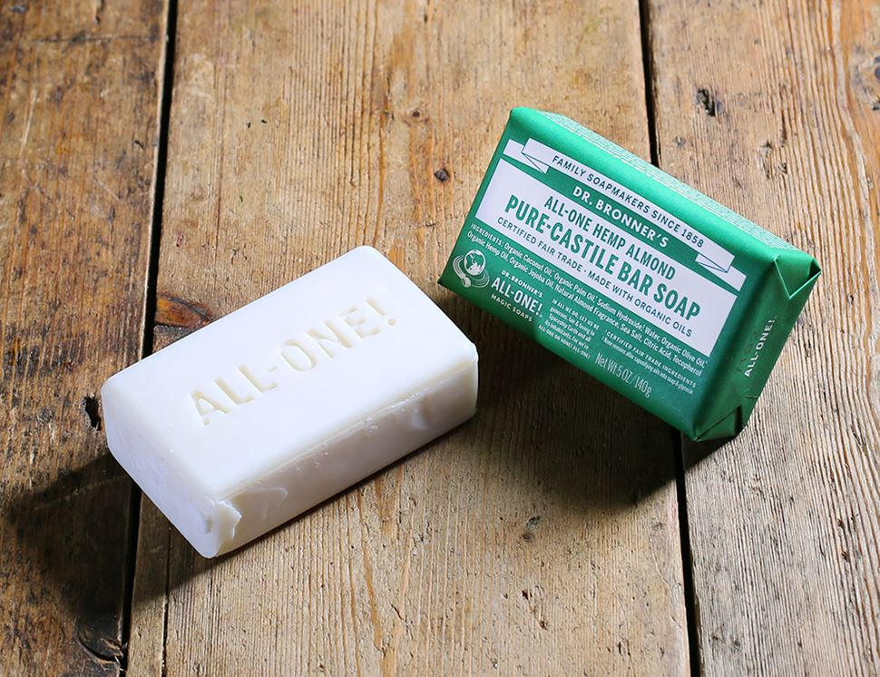 Soap Bar, Almond Scented, Organic, Dr Bronner's (140g)
