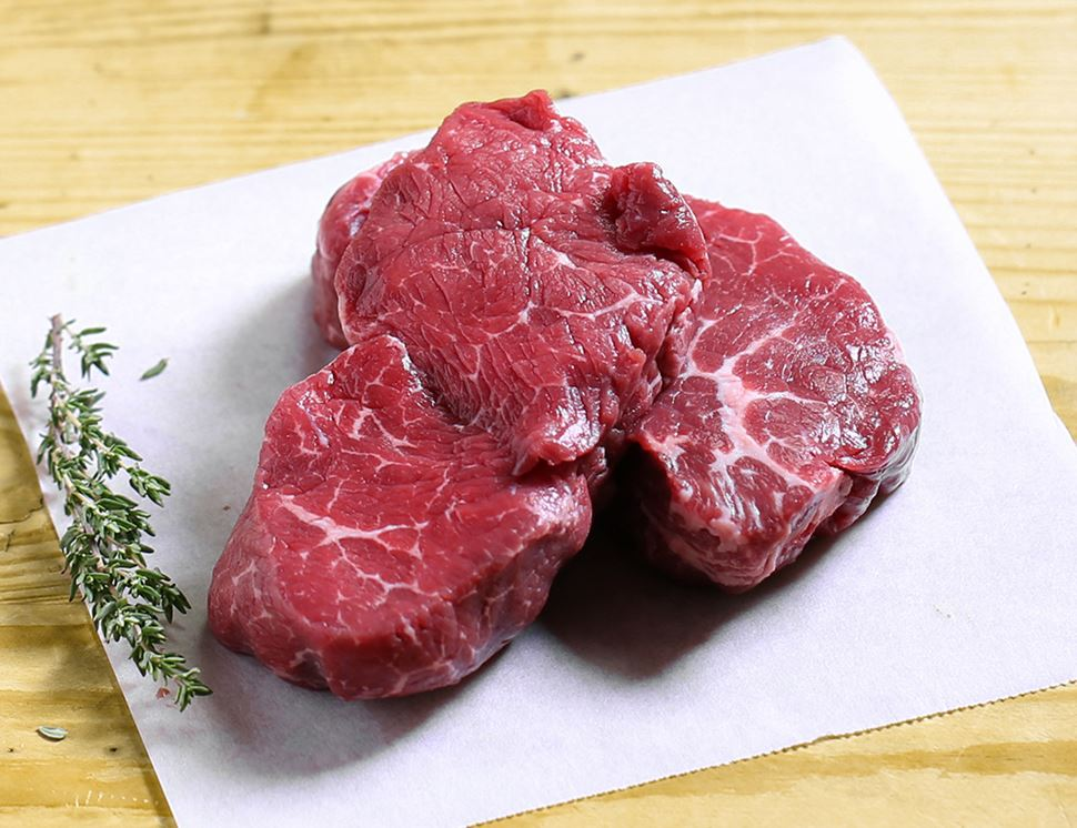 28 Day Aged Fillet Steak, Organic, Eversfield Organic (340g)