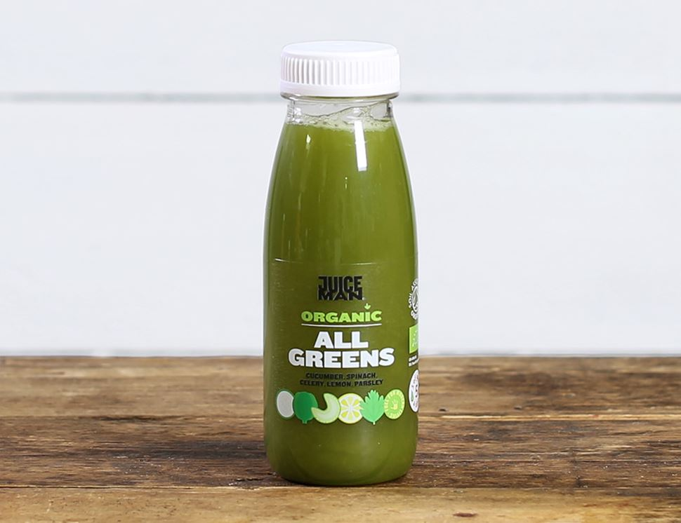 All Greens, Organic, Juiceman (250ml)