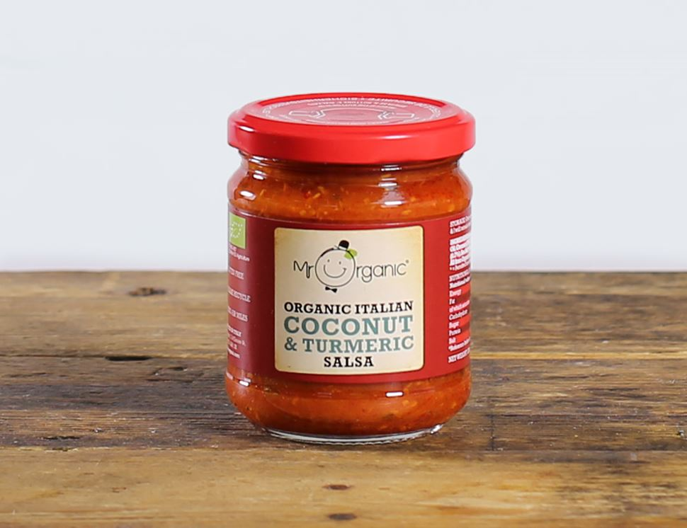 Coconut & Turmeric Hot Salsa, Organic, Mr Organic (200g)