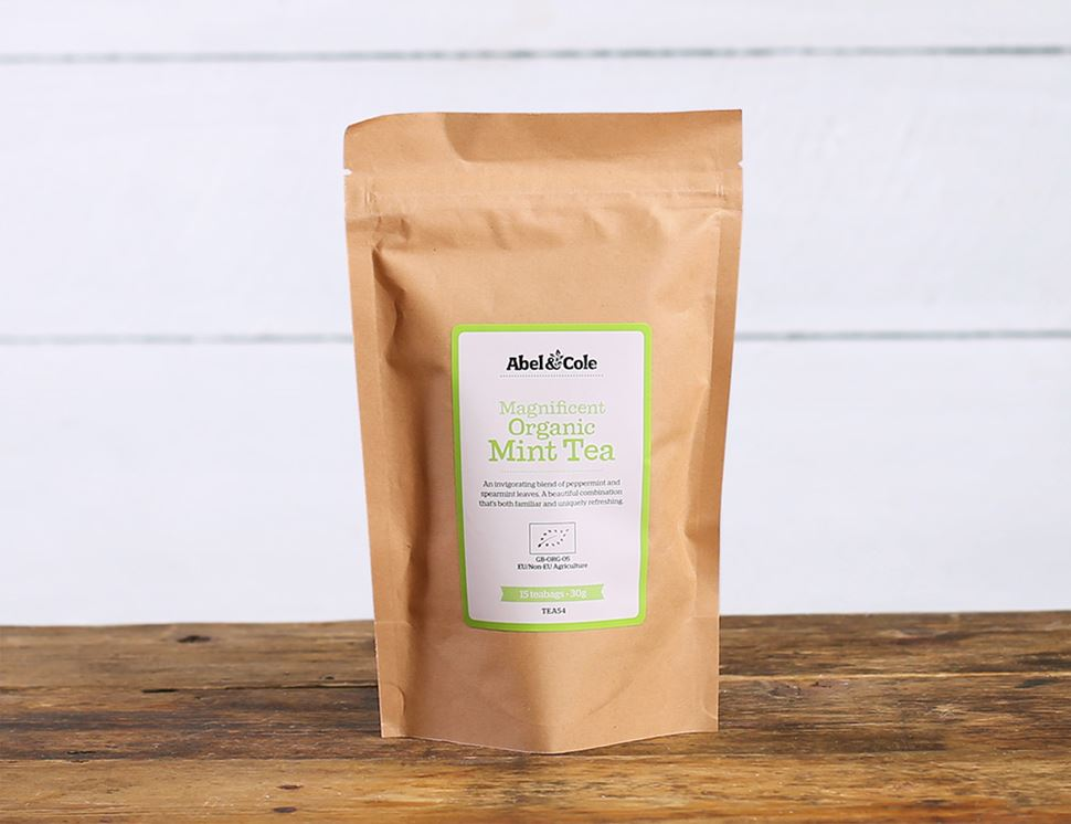 Magnificent Mint Tea, Organic, Abel & Cole (15 bags)