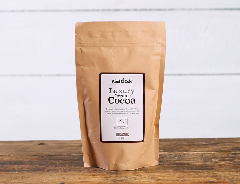 Luxury Cocoa with Cacao, Organic, Abel & Cole (150g)