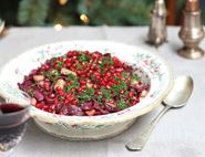 Red Cabbage with Pomegranate