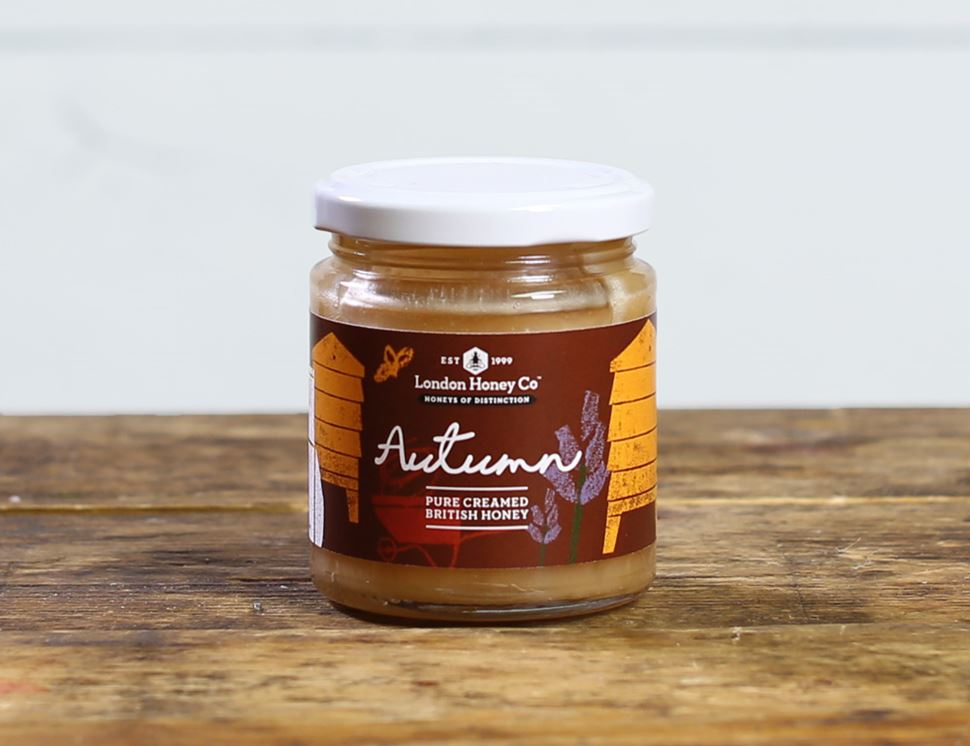 British Autumn Creamy Honey, The London Honey Company (227g)