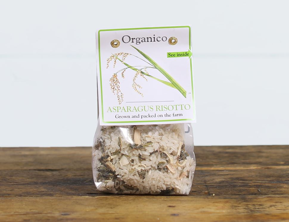 Asparagus Risotto, Organic, Organico Realfoods (250g)