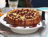 Brilliant Baked Orange & Cardamom Cheesecake